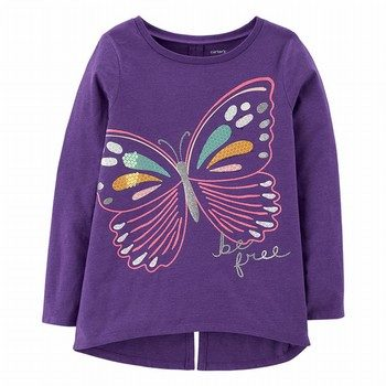 Carter's Butterfly L/S Tee