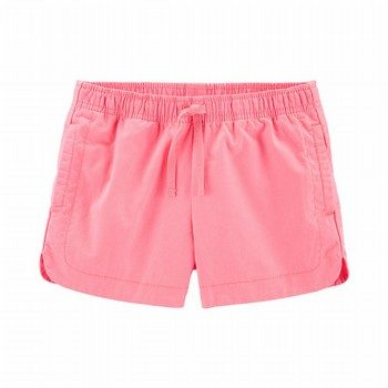 Carter's Neon Pull-On Twill Shorts