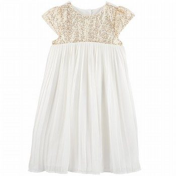 OshKosh B'gosh Sequin Pleated Dress