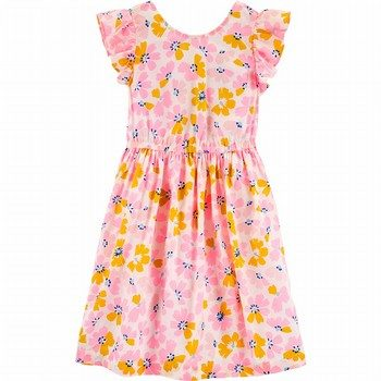 Carter's Floral Bow Dress