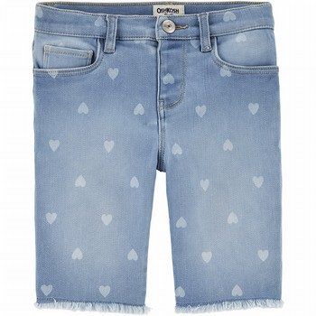 OshKosh B'gosh Heart Denim Skimmer Shorts
