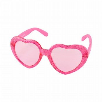 Carter's Glitter Heart Sunglasses