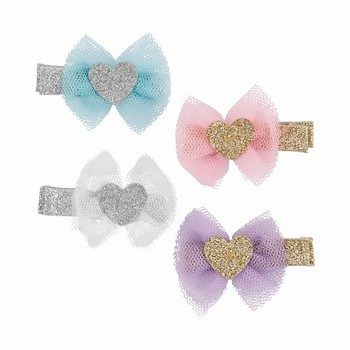 Carter's 4PK Bow Hair Clips