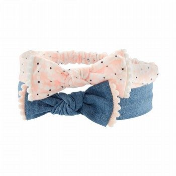 Carter's 2PK Chambray Headwraps