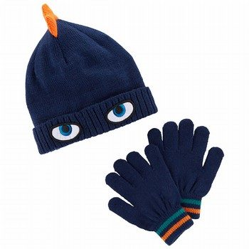 Carter's Character Hat & Glove Set