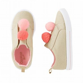 OshKosh B'gosh Pom Slip-On Sneaker